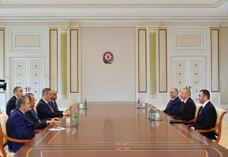Президент Ильхам Алиев принял руководителей органов спецслужб тюркоязычных государств