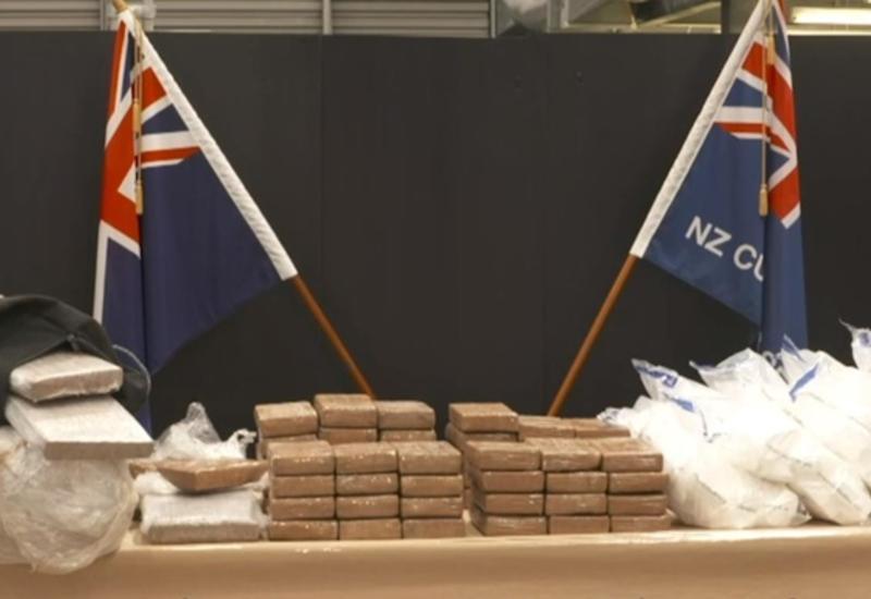 На границе Новой Зеландии изъяли самую крупную партию наркотиков в истории страны