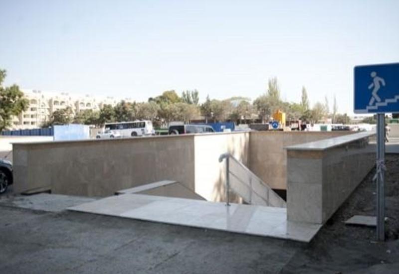Новшество на крупном проспекте в Баку