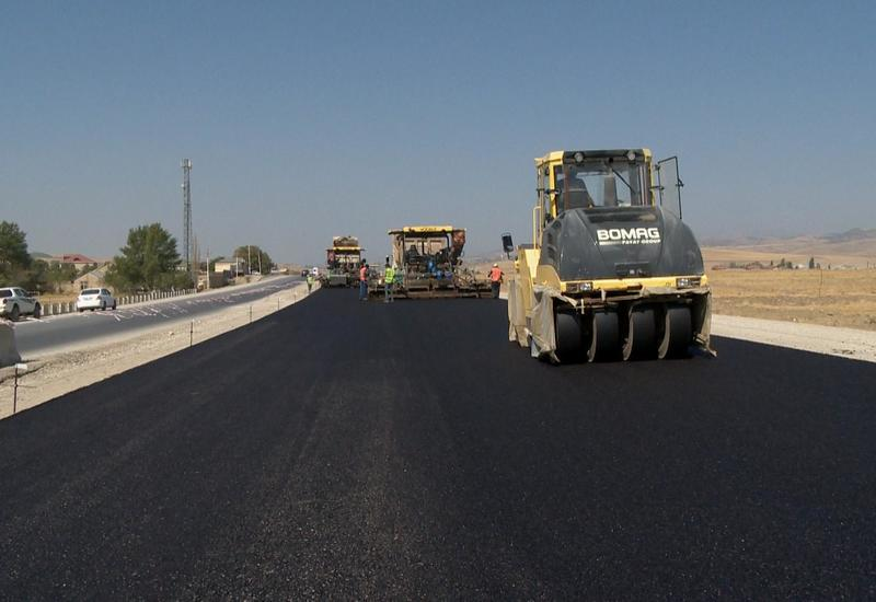 В регионах Азербайджана ремонтируют дороги