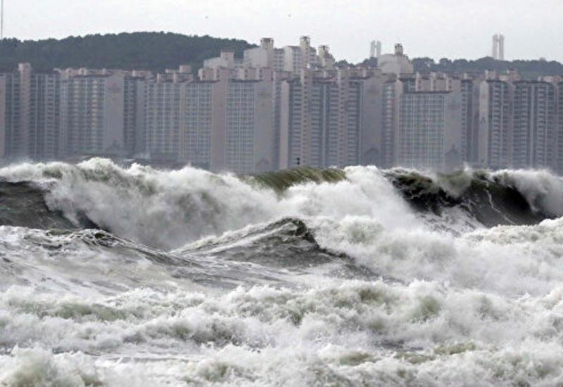 В Южной Корее женщина погибла из-за тайфуна