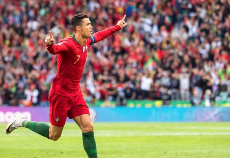Гол Роналду помог Португалии обыграть Сербию в квалификации Евро-2020