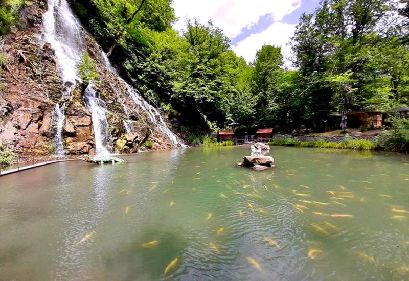 Непередаваемая красота водопада Халхал в Азербайджане
