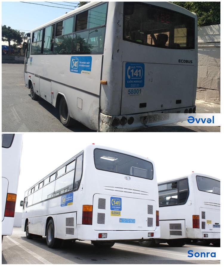 В Баку объединили эти автобусные маршруты