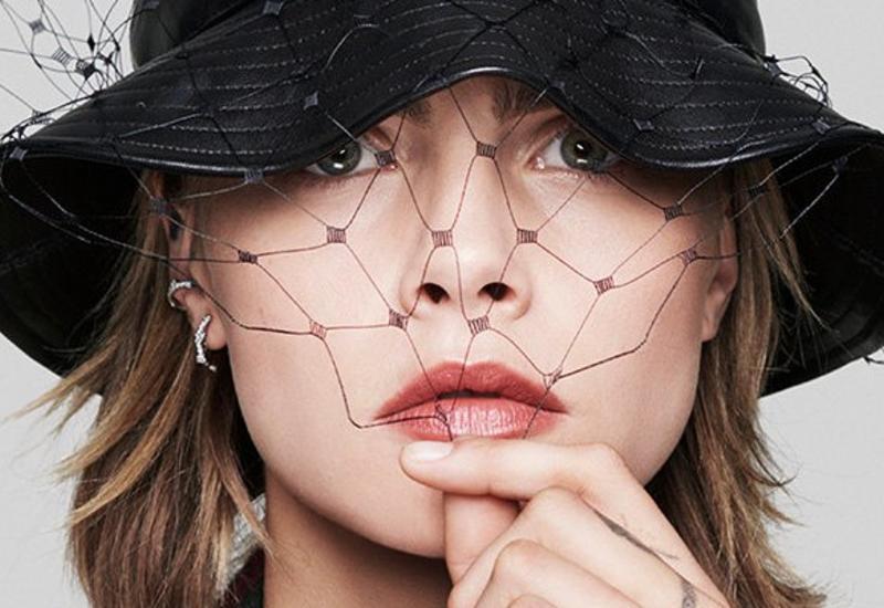 Кара Делевинь стала лицом помады Dior