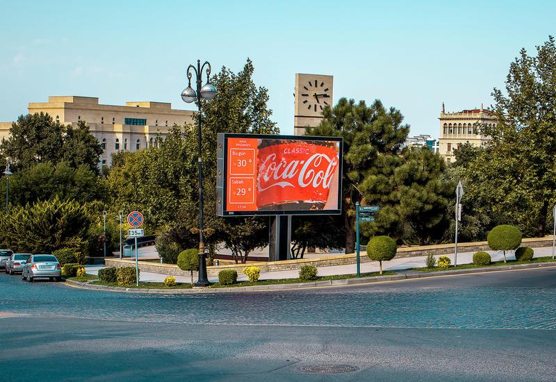 """Медиа-агенство """"Universal McCann Азербайджан», на основе инновационной диджитал-платформы Adviad, впервые в Азербайджане запустило рекламу в формате DOOH для бренда Coca-Cola"""