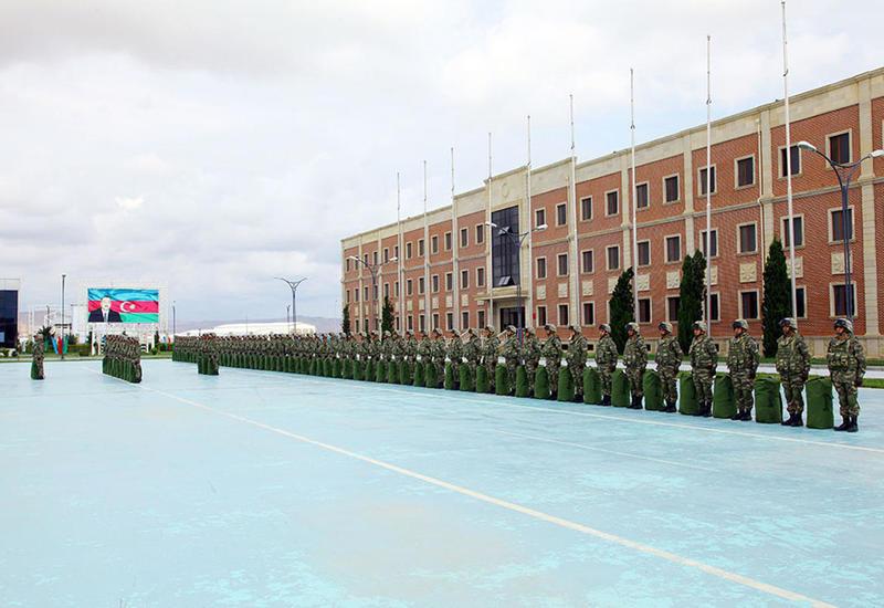 Азербайджанские военные отправляются на учения в Германию