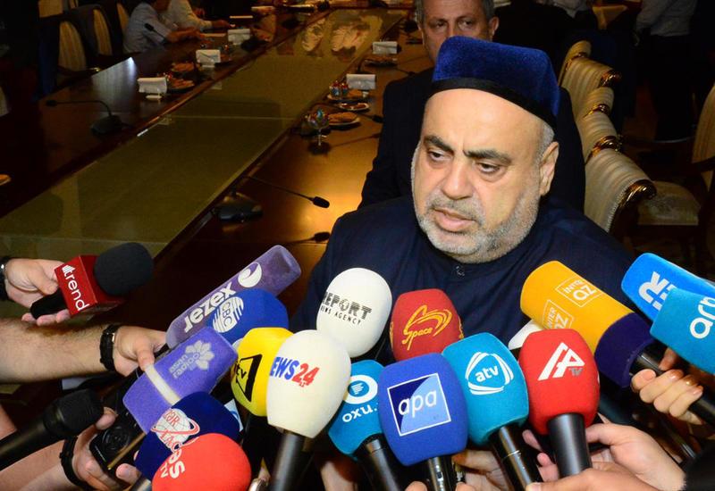 Аллахшукюр Пашазаде об акции по сдаче крови в день Ашура