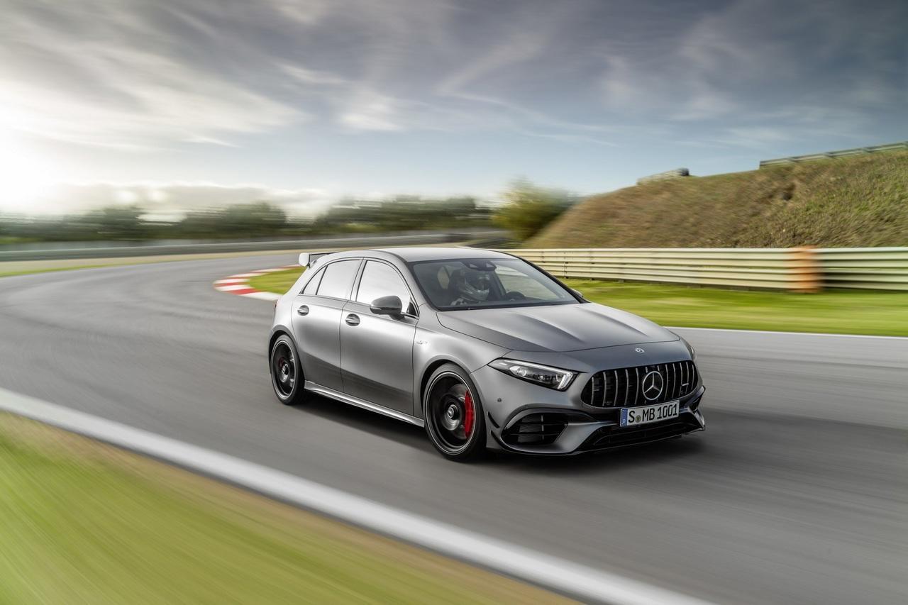 """Mercedes представил хот-хэтч с самой мощной """"турбочетверкой"""" в истории"""