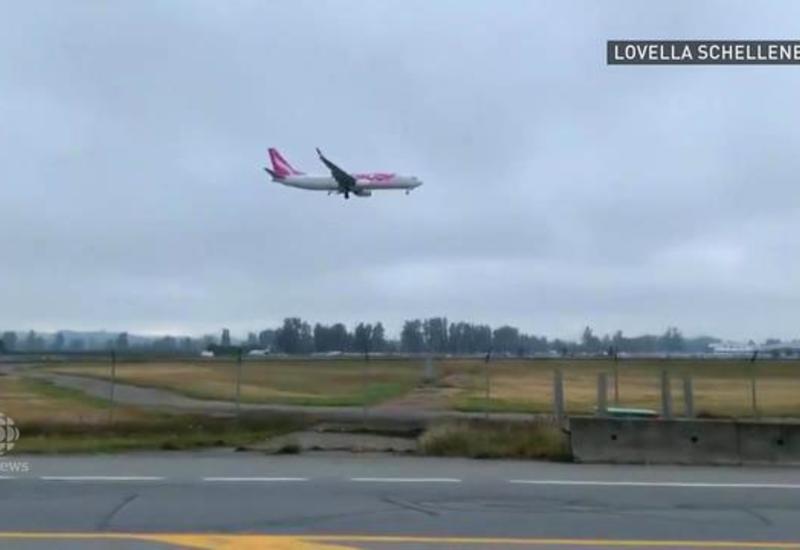 Пассажирский Boeing столкнулся с гусями после взлета в Канаде