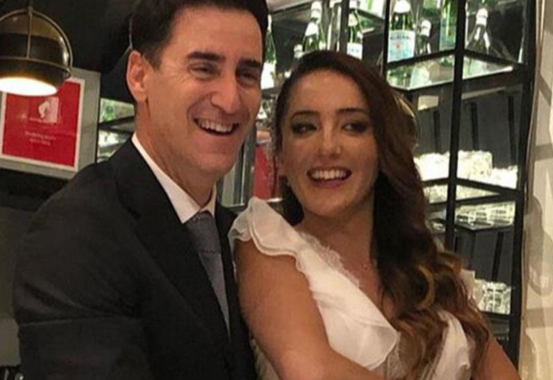 Türkiyəli aktyor ikinci dəfə evləndi - FOTOlar