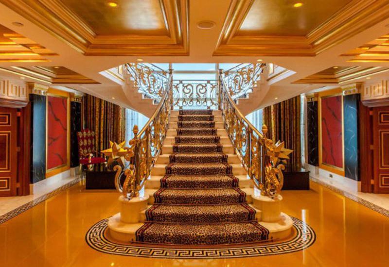 Так выглядит самый дорогой номер в семизвездочном отеле Burj Al Arab