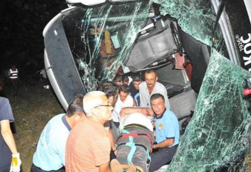 Тяжелая авария в Турции, много погибших