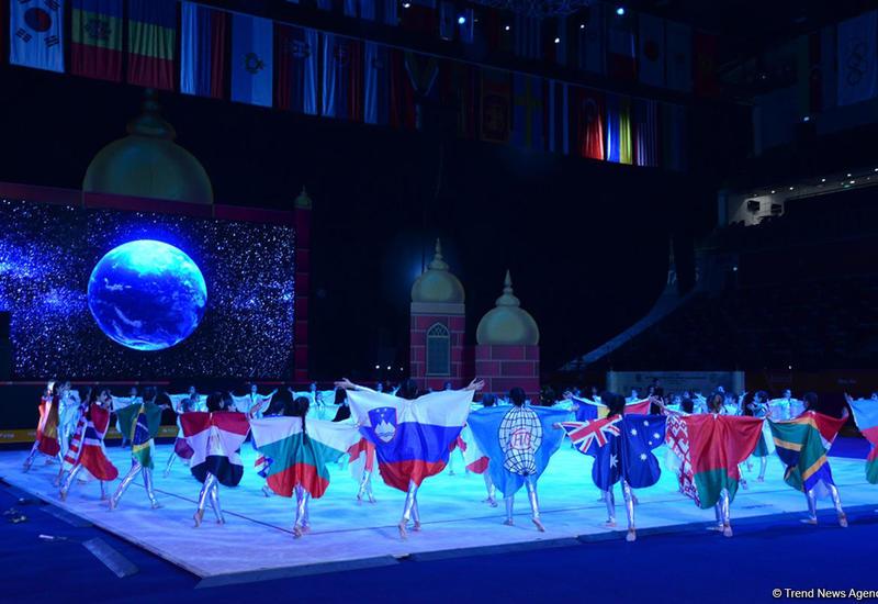 Зрителей 37-го Чемпионата мира по художественной гимнастике в Баку ждет грандиозное шоу