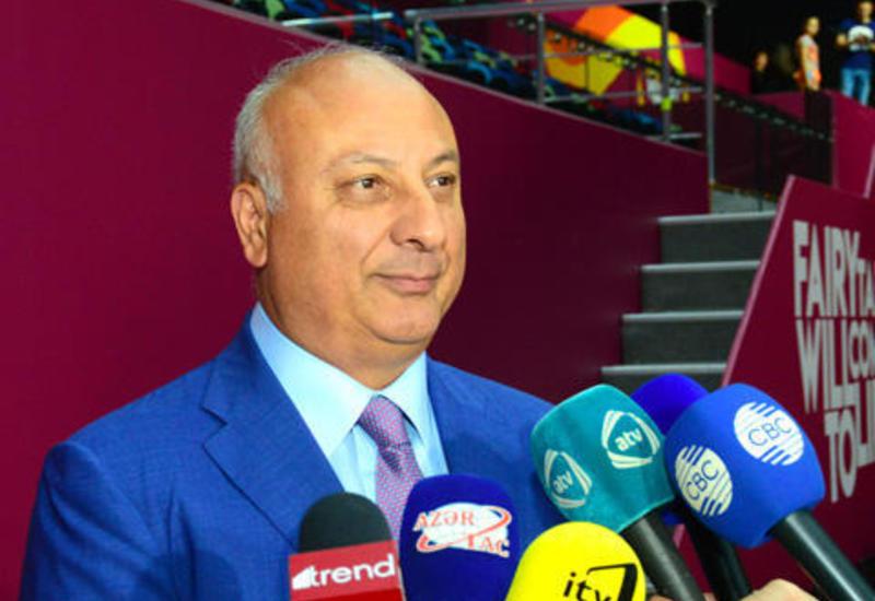 Алтай Гасанов: Азербайджан полностью готов к проведению 37-го Чемпионата мира по художественной гимнастике
