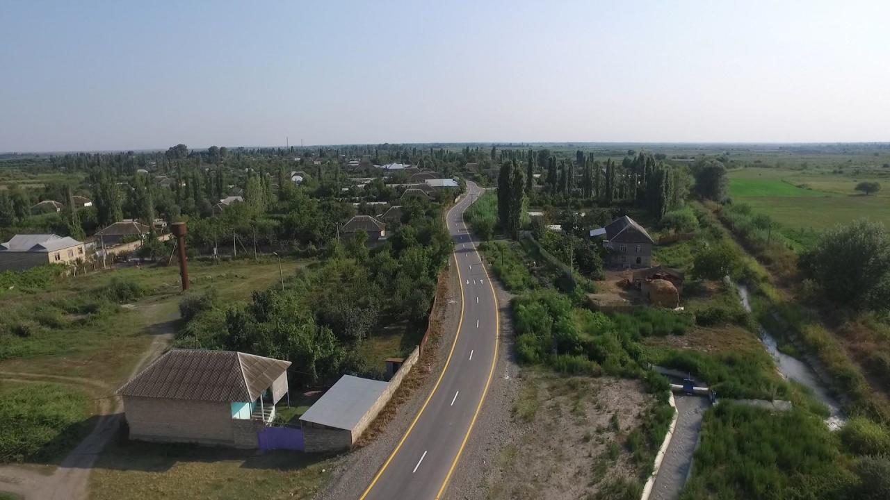 Bu ərazilərə yolu düşənlər, XƏBƏRDAR OLUN: 2 avtomobil yolu yenidən qurulub - FOTO