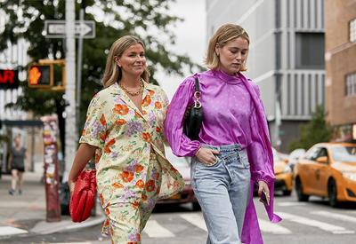 """На улицах Нью-Йорка вновь парад стильных образов <span class=""""color_red"""">- ФОТО</span>"""