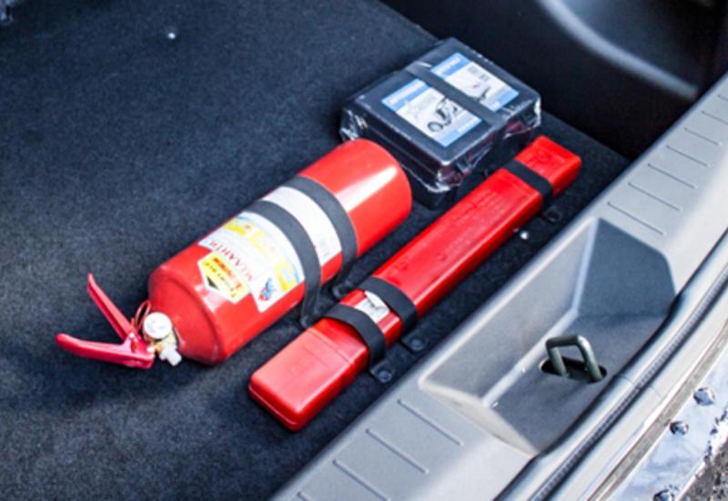 В Азербайджане утверждены новые требования в связи с автоаптечкой и огнетушителем