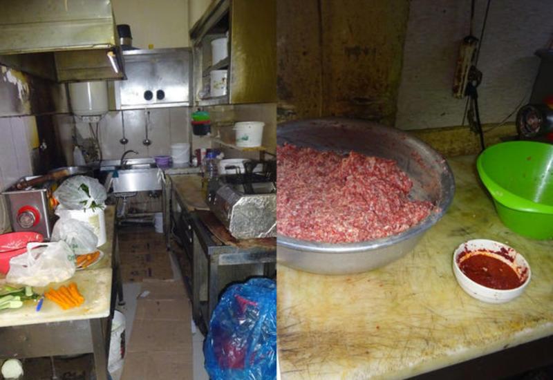 В Баку закрыли ресторан за антисанитрию