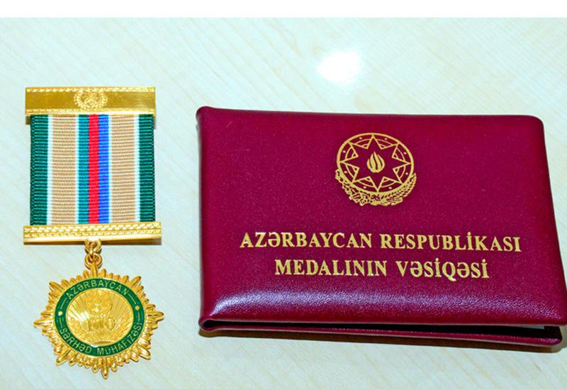 Погранслужба Азербайджана наградила сотрудников АМИ Trend