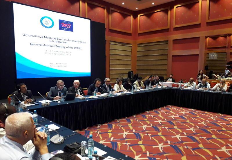 Афлатун Амашов: Деятельность журналистов в конфликтных зонах достойна высокой оценки