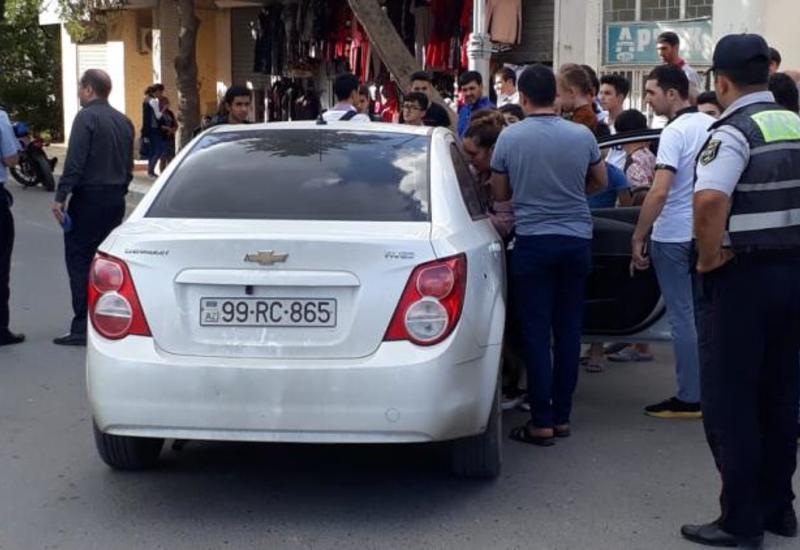 В Ширване автомобиль сбил пешехода