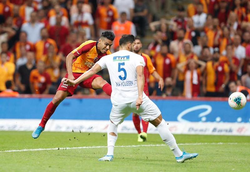 Фалькао стал автором победного мяча в дебютном матче за «Галатасарай»