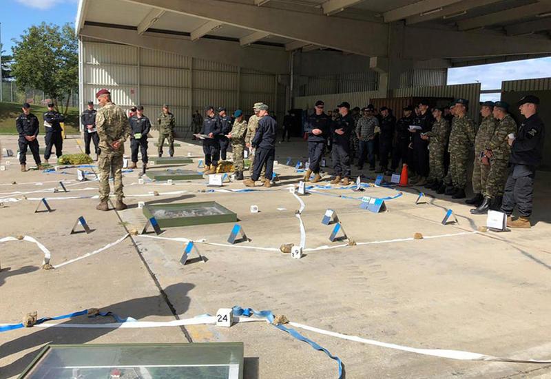 Азербайджанские военнослужащие на учениях в Германии