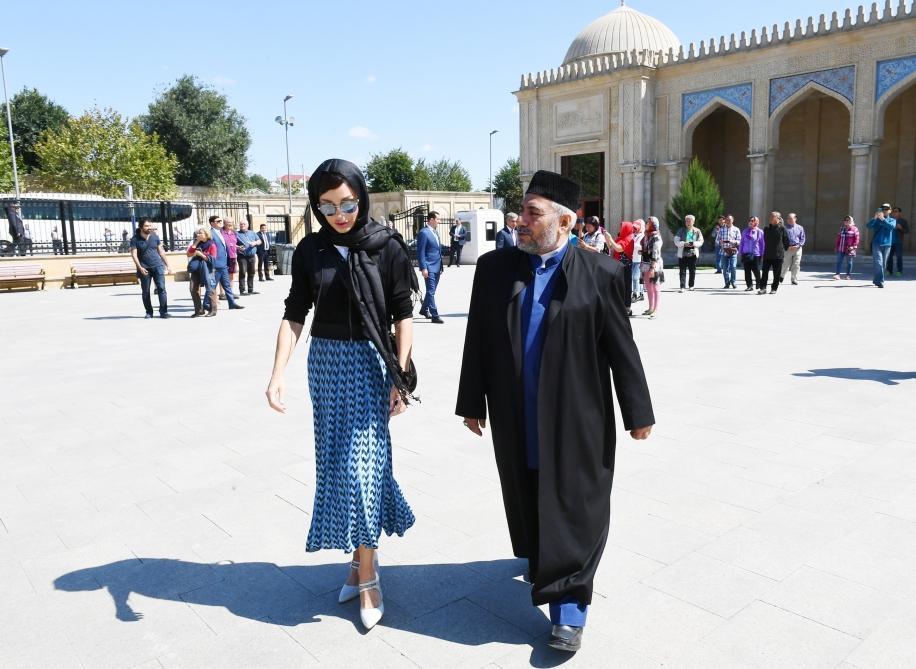 Первый вице-президент Мехрибан Алиева посетила шамахинскую Джума-мечеть