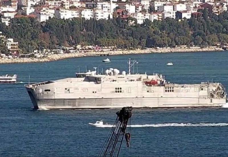 В Черное море вошел экспедиционный корабль ВМС США
