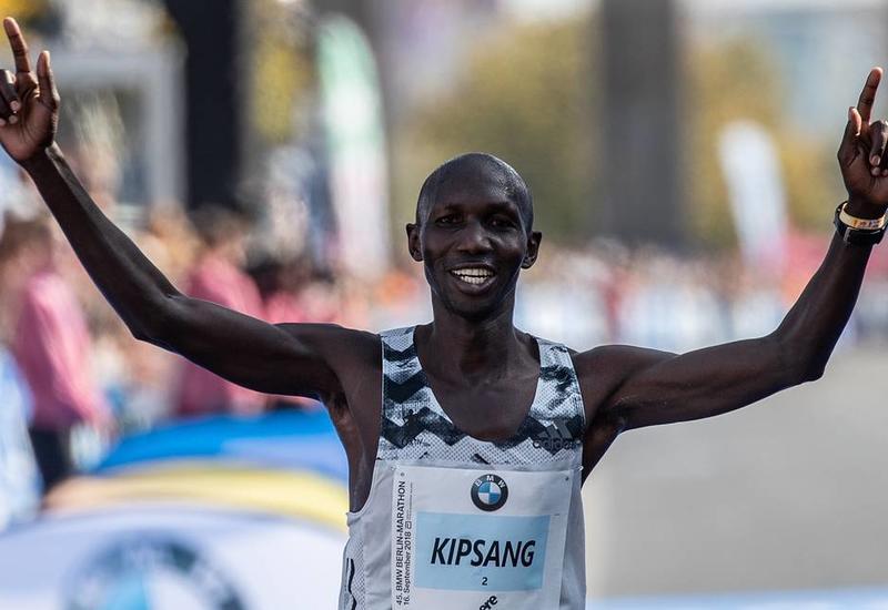 Кениец Кипсанг установил мировой рекорд в полумарафоне