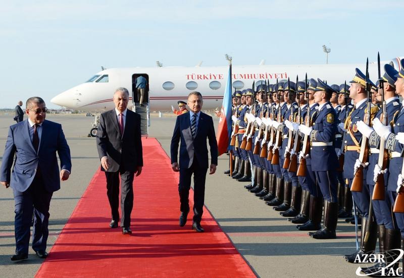 Вице-президент Турции прибыл с официальным визитом в Азербайджан