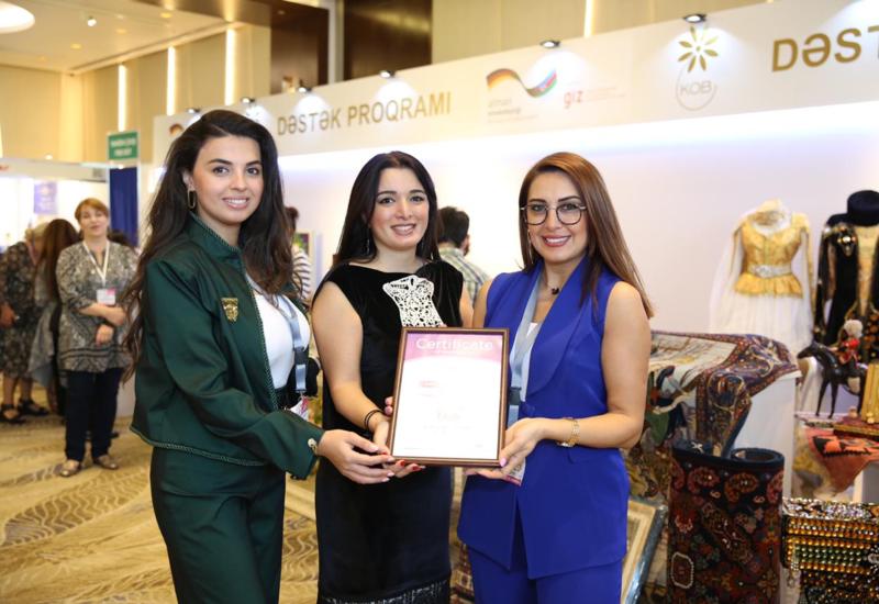 Стенд Агентства развития МСБ Азербайджана удостоен награды «Лучший соцпроект»