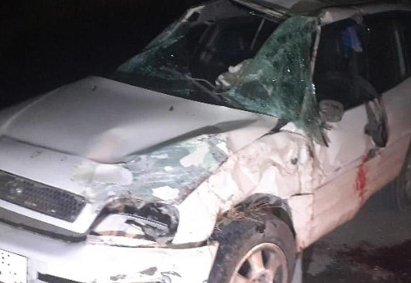 Qobustanda yol qəzası - 1 ölü, 1 yaralı