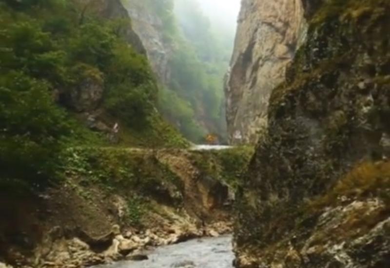 Живописный каньон в Губе