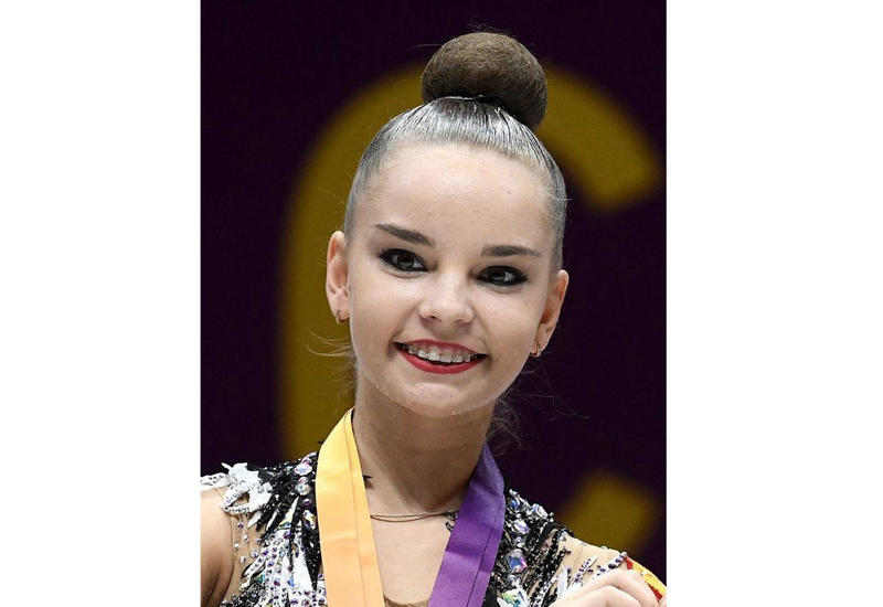 Российская гимнастка Дина Аверина: Здесь родной зал, родной ковер, родной Баку