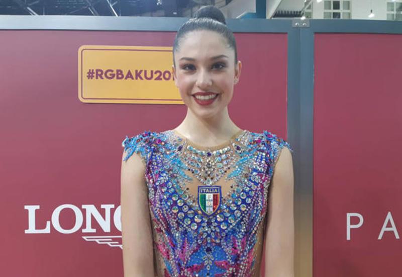 Организация соревнований в Баку с каждым разом лучше, красивее и масштабнее – итальянская гимнастка