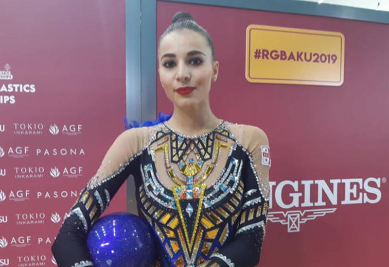 В зале Арены гимнастики в Баку легко выступать  — грузинская гимнастка