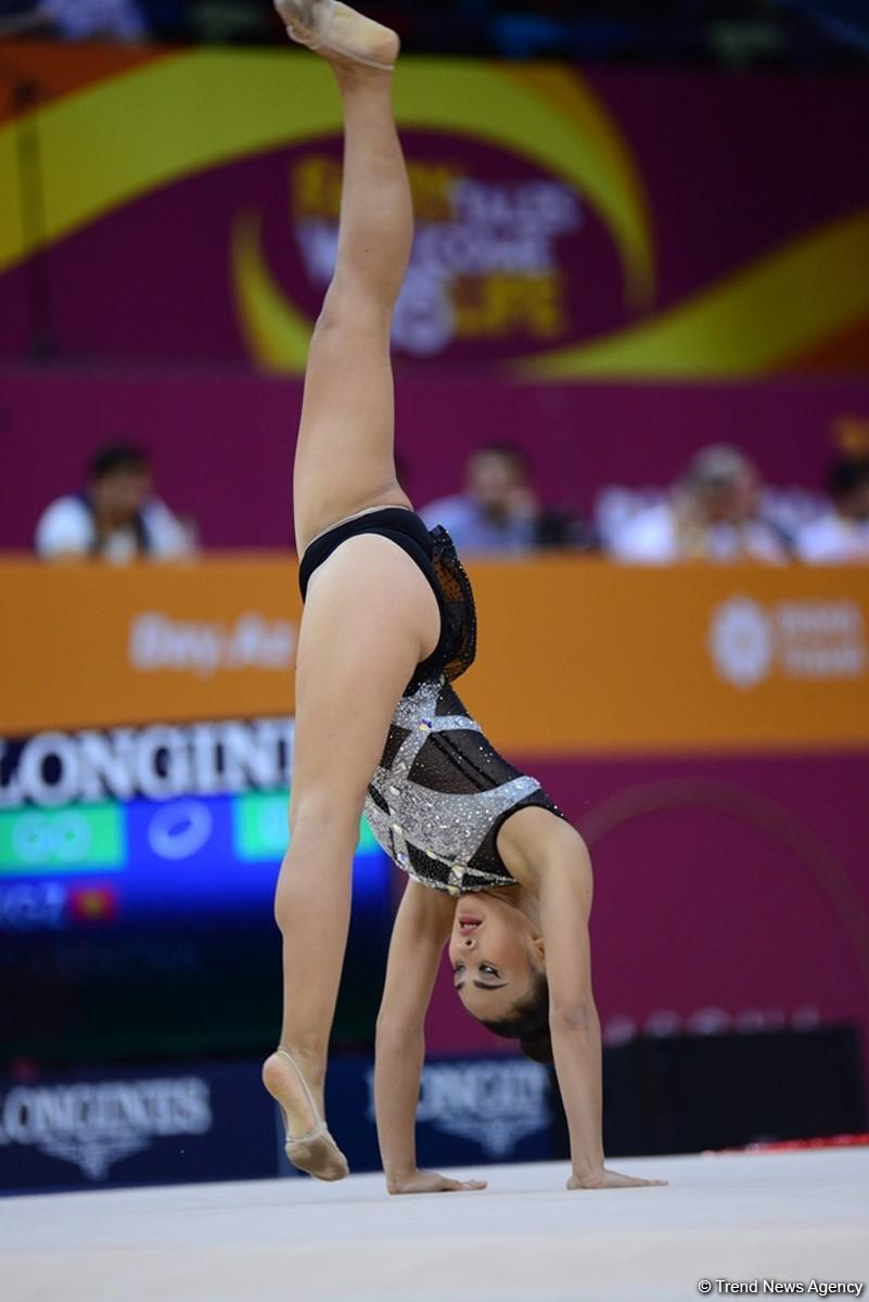 В Национальной арене гимнастики продолжаются соревнования Чемпионата мира