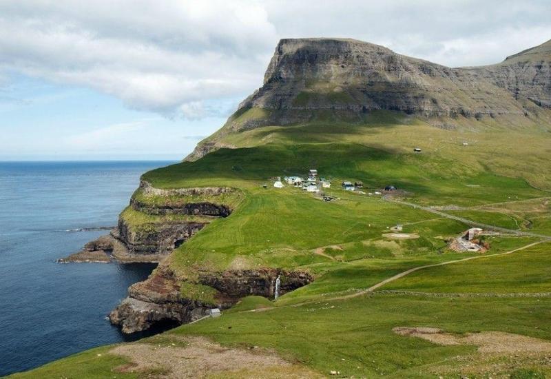 Затерянная от мира деревня на Фарерских островах