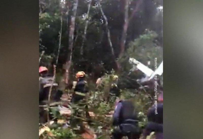 В Бразилии рухнул самолет, но все пассажиры выжили