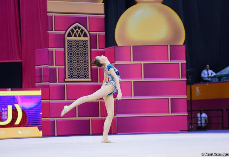 В Баку стартовал второй день 37-го Чемпионата мира по художественной гимнастике