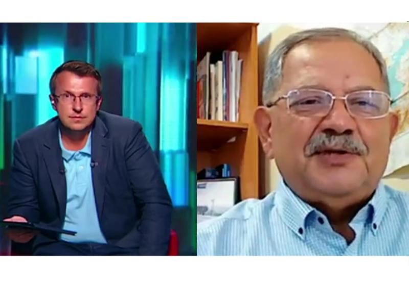 Заместитель генерального директора АМИ Trend Эльхан Алескеров на российском телеканале Вести-24