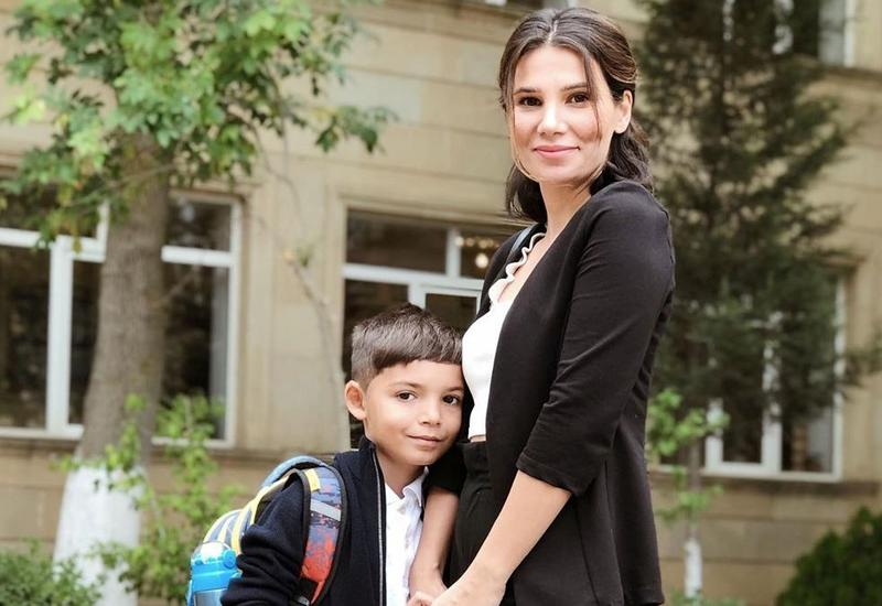 Популярный блогер Вюсаля Алиева рассказала о своем первом дне в школе