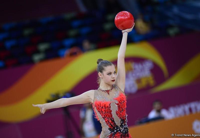 Результаты выступления азербайджанских гимнасток во второй день Чемпионата мира в Баку