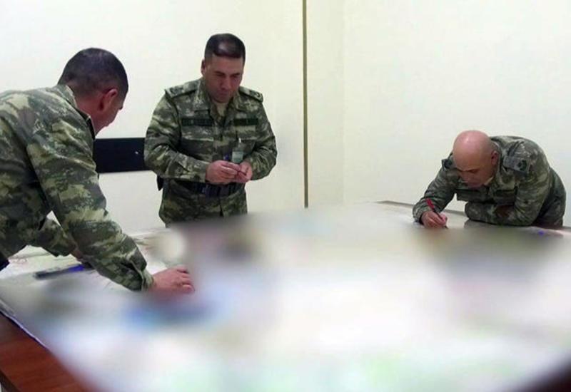 Широкомасштабные учения азербайджанской армии: отрабатываются задачи по действиям войск на картах