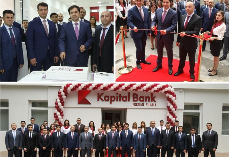 Kapital Bank представил обновленный филиал Насими