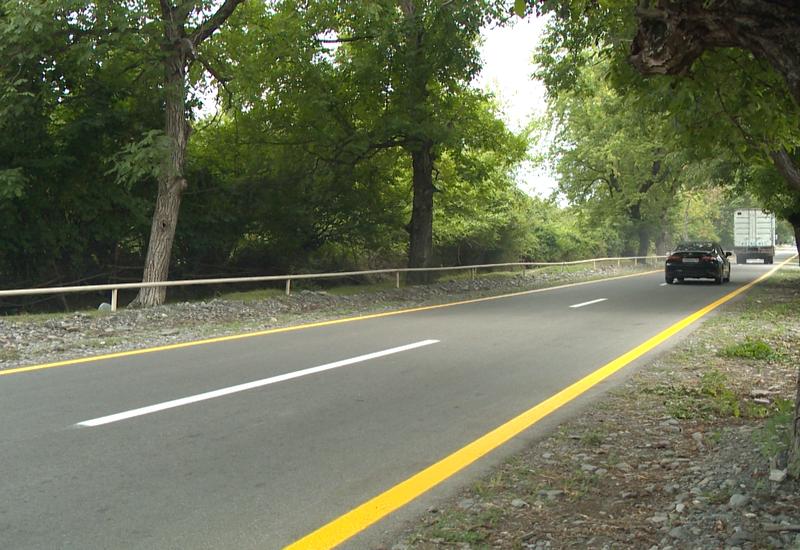 В Габале отремонтировали ряд дорог