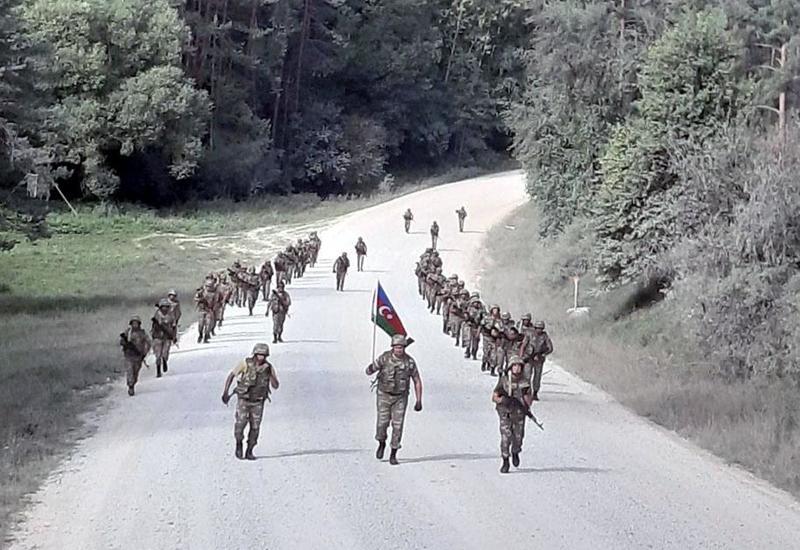 Азербайджанские военнослужащие на учениях Saber Junction-19 в Германии