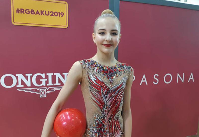 В Баку мы попадаем в сказку - гимнастка из Австралии